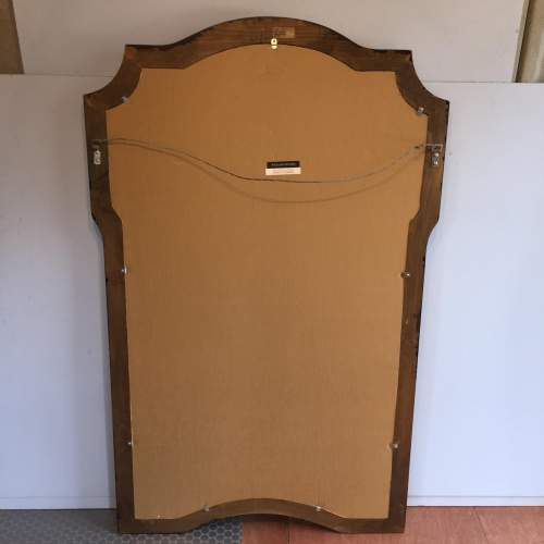Large Chinoiserie Style Framed Mirror By William Switzer image-4