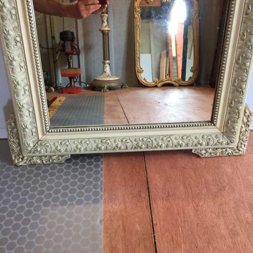 Large French Painted Mirror Circa 1900 image-3