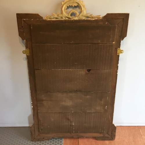 Large French Painted Mirror Circa 1900 image-4