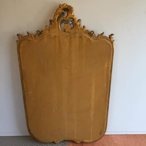 Large Gilt 19th Century Rococo Style Mirror image-4