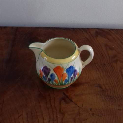 Clarice Cliff Autumn Crocus Milk Jug image-5
