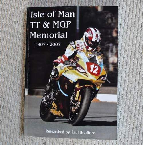 Isle of Man TT and MGP Memorial by Paul Bradford Limited Edition Book image-1