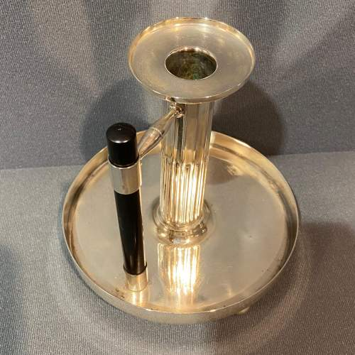 Dr Christopher Dresser Design WMF Chamber Candlestick image-3