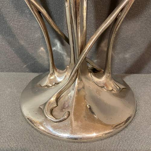 Liberty and Co Tudric Pewter Bud Vase by Archibald Knox image-2