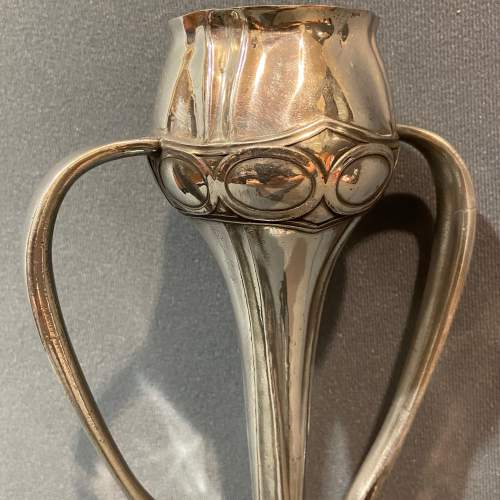 Liberty and Co Tudric Pewter Bud Vase by Archibald Knox image-4