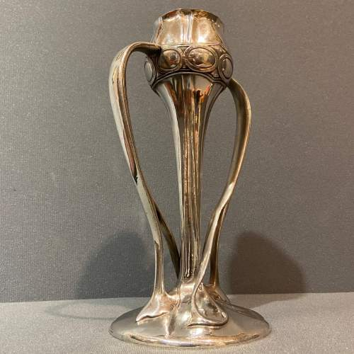 Liberty and Co Tudric Pewter Bud Vase by Archibald Knox image-6