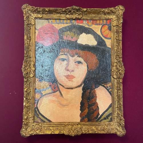 La Femme Au Chapeau Noir image-1
