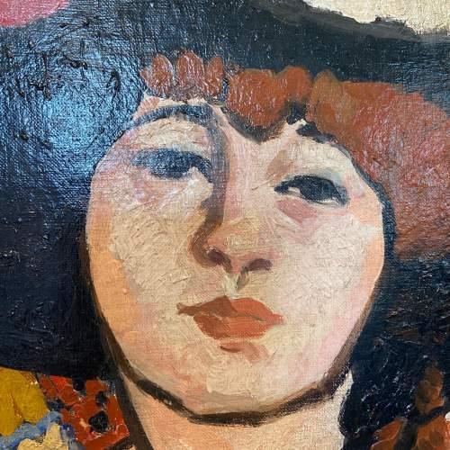 La Femme Au Chapeau Noir image-2