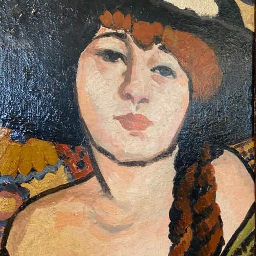La Femme Au Chapeau Noir image-5