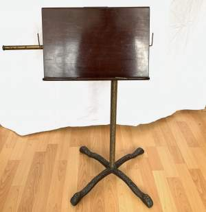 Adjustable Manuscript or Music Stand