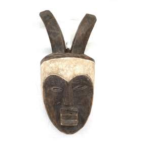 Ethnic Art Carved Wooden Mask