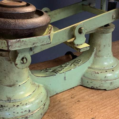 Vintage Upcycled Weighing Scales Lamp image-2