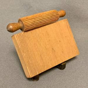 Late 18th Century Treen Lace Crimping Board