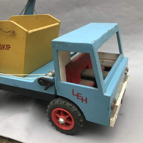 Hand Built Wooden Skip Lorry image-4