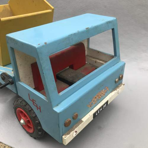 Hand Built Wooden Skip Lorry image-5