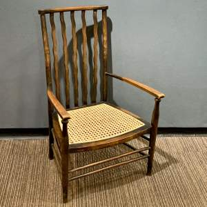 Morris and Co Liberty Cane Seated Armchair