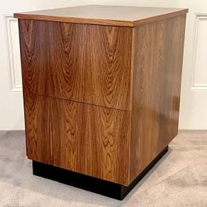 Mid Century Office Filing Cabinet - manner of Merrow Associates