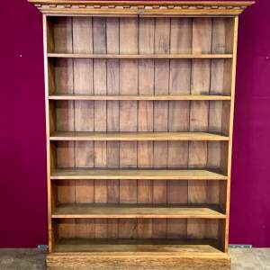 Early 20th Century Tall Oak Bookshelves