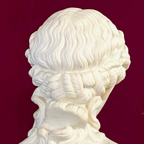 Pair of Mid 19th Century Copeland Parian Busts of Clytie image-4