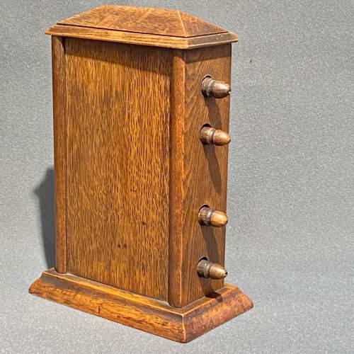 Victorian Oak Perpetual Calendar image-4