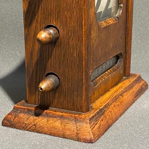 Victorian Oak Perpetual Calendar image-6