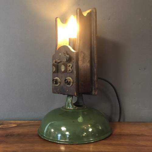 Jefferson Tester Vintage Industrial Lamp image-5