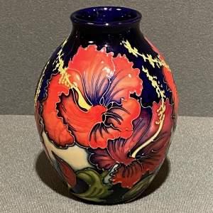 Moorcroft Pottery Kali Pattern Limited Edition Vase