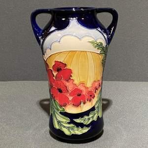Moorcroft Pottery Forever England Pattern Vase
