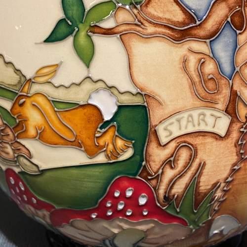 Moorcroft Pottery Snail and Tortoise Pattern Vase image-2