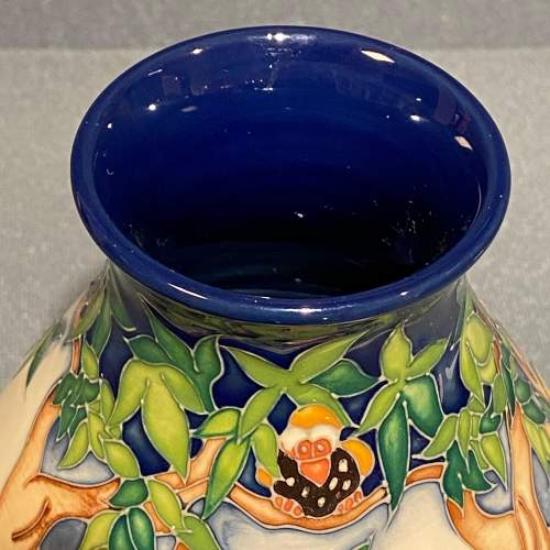 Moorcroft Pottery Snail and Tortoise Pattern Vase image-5