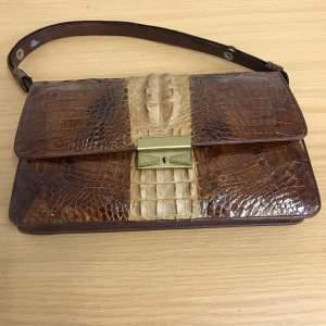 Vintage Crocodile Bag