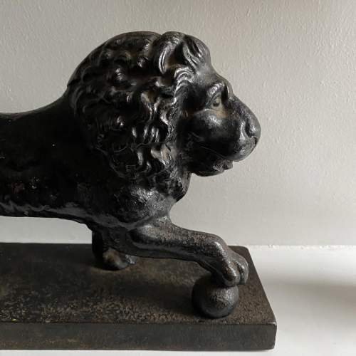 Regency Medici Lion Circa 1820 image-4