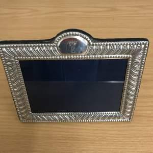 Monogram E Silver Photograph Frame