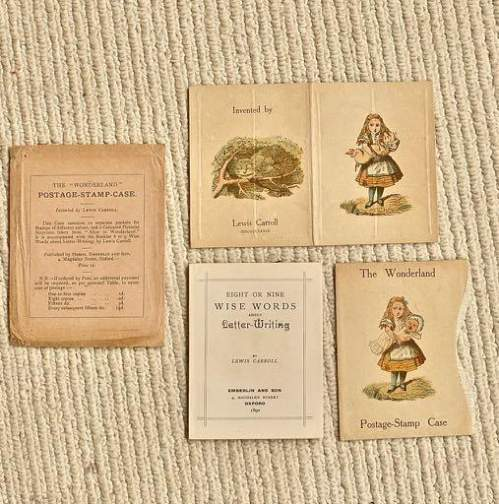 A Scarce and Collectable Early Postal History Lewis Carroll Item image-1