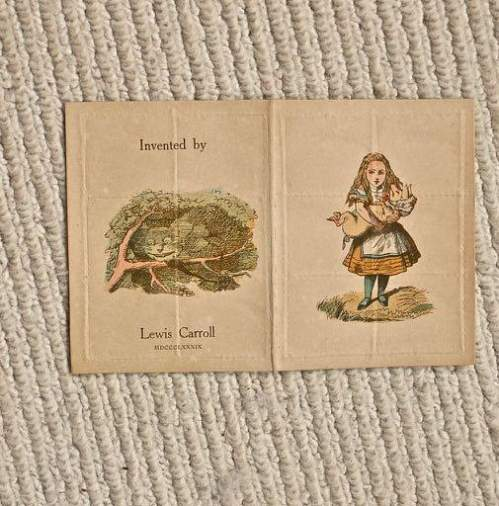 A Scarce and Collectable Early Postal History Lewis Carroll Item image-2