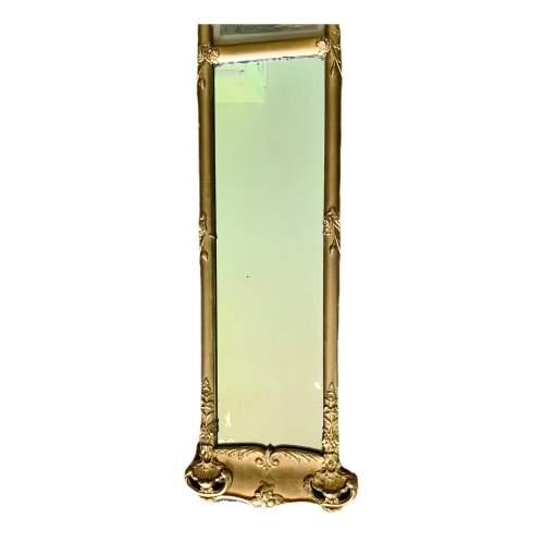 19th Century French Gilt Trumeau Mirror image-3