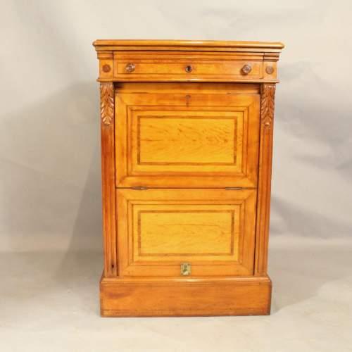 19th Century Satinwood Music Cabinet image-1