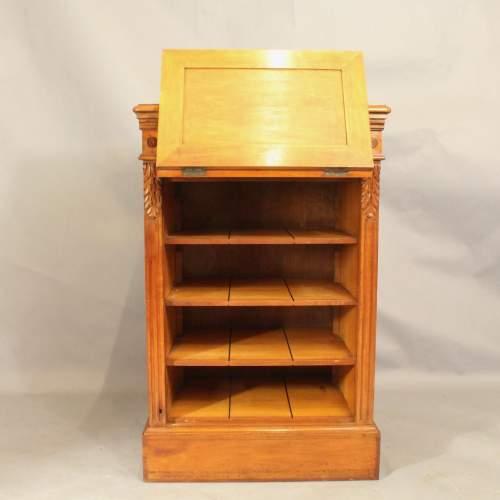 19th Century Satinwood Music Cabinet image-2