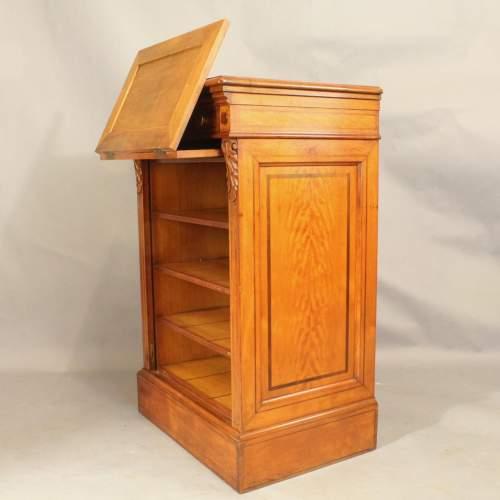 19th Century Satinwood Music Cabinet image-3