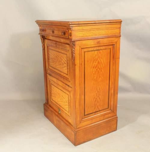 19th Century Satinwood Music Cabinet image-4