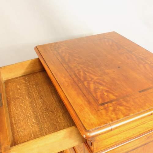 19th Century Satinwood Music Cabinet image-6