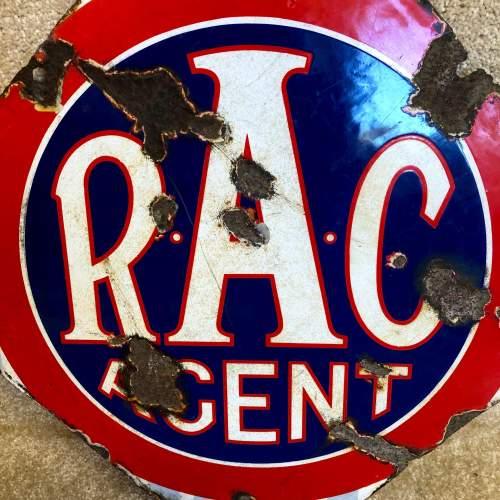 Vintage Enamel RAC Sign image-2