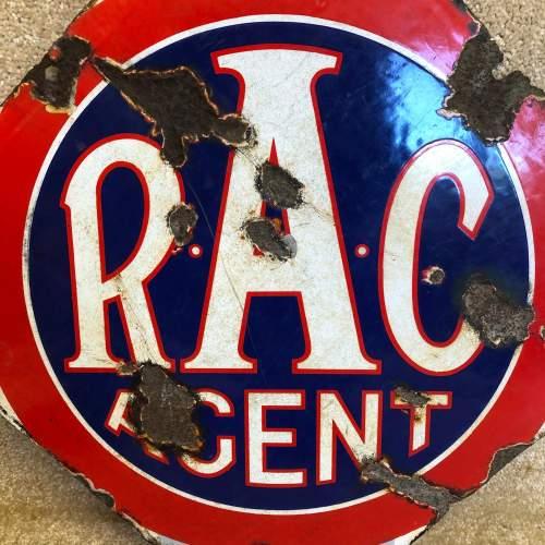 Vintage Enamel RAC Sign image-6
