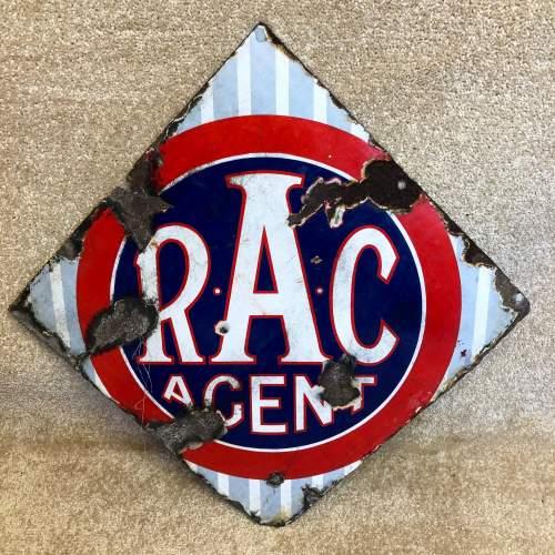 Vintage Enamel RAC Sign image-4
