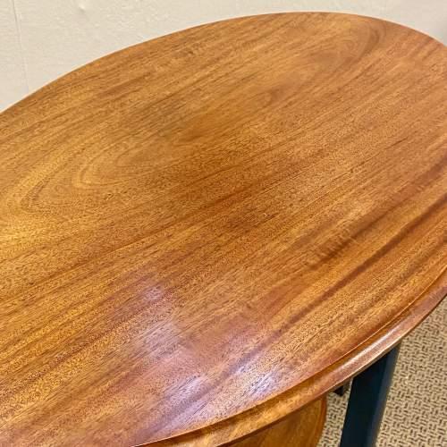 Edwardian Oval Flame Mahogany Table image-3