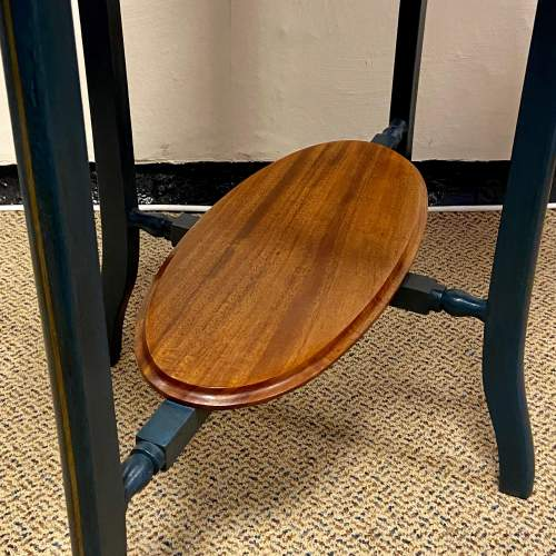 Edwardian Oval Flame Mahogany Table image-4