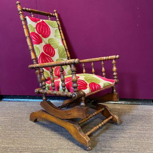 Victorian American Rocking Chair image-1