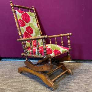 Victorian American Rocking Chair