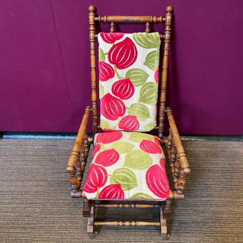 Victorian American Rocking Chair image-3