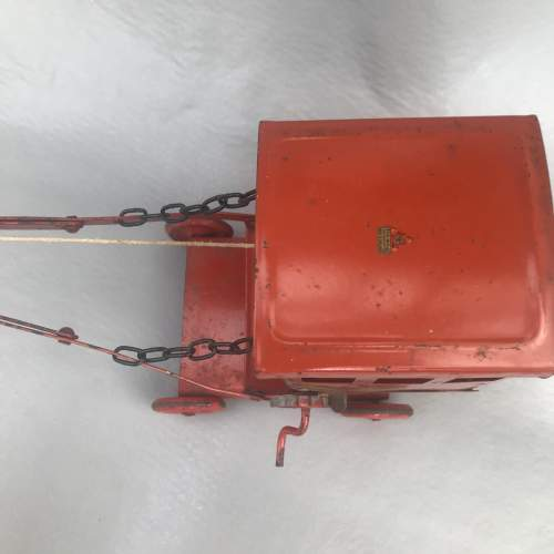 1960-70s Tri-ang Red Metal Crane image-4